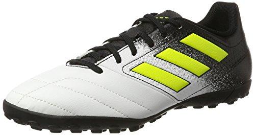 Adidas Ace 74 Tf, Scarpe da Calcio Uomo, Giallo (Footwear White/Solar Yellow/Core Black)