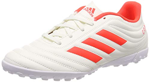 adidas Copa 19.4 Tf, Scarpe da Calcio Uomo, Multicolore Solar Red/off White D98070, 41 1/3 EU