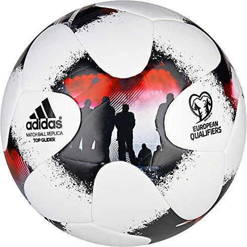 Adidas Europeanqgli, Pallone da Calcio Uomo, Bianco, 5