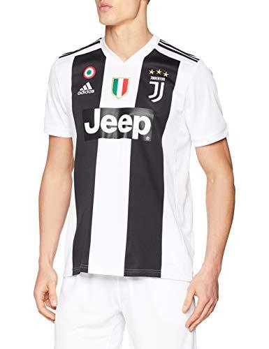 adidas Juve H JSY, Maglia Gara Home 2018/2019 Cristiano Ronaldo, Uomo, Bianco (Bianco/Nero), S