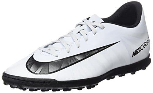 Nike Mercurialx Vortex III Cr7 Tf, Scarpe da Calcio Uomo, Nero/Bianco (Blue Tint/Black-White)