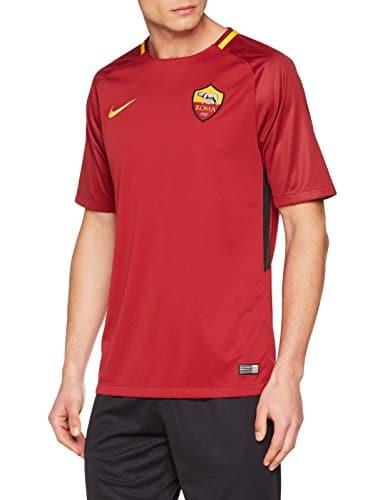 Nike Roma M Nk BRT Stad SS HM, Maglia da Calcio Uomo, Rosso/Oro, M