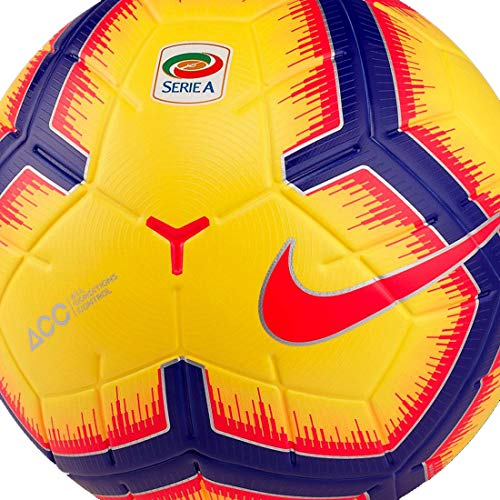 Nike SA NK STRK-FA18, Pallone Uomo, Yellow/Purple/Flash Crimson, 5