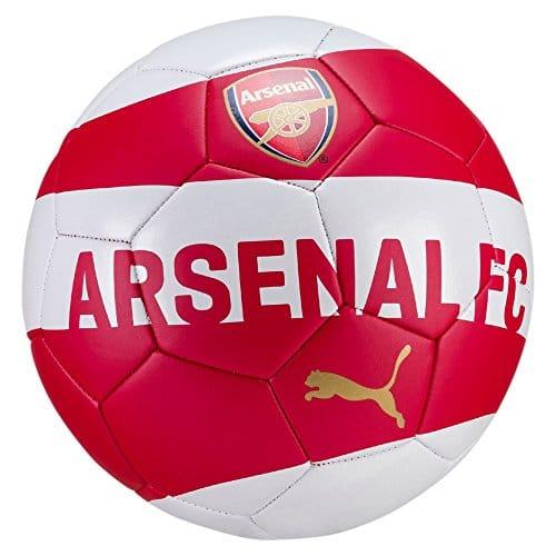 Puma Unisex Arsenal Fan Ball, Chili Pepper-puma White-Bistre, Taglia 5